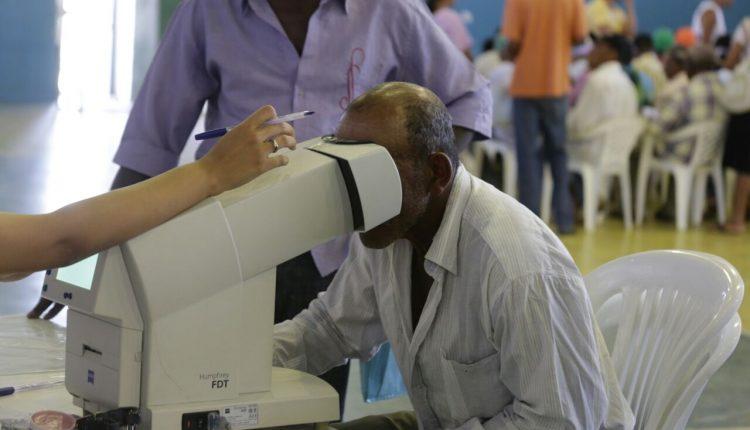 Primeiro mutirão do glaucoma de 2017 está sendo realizado em Caetité