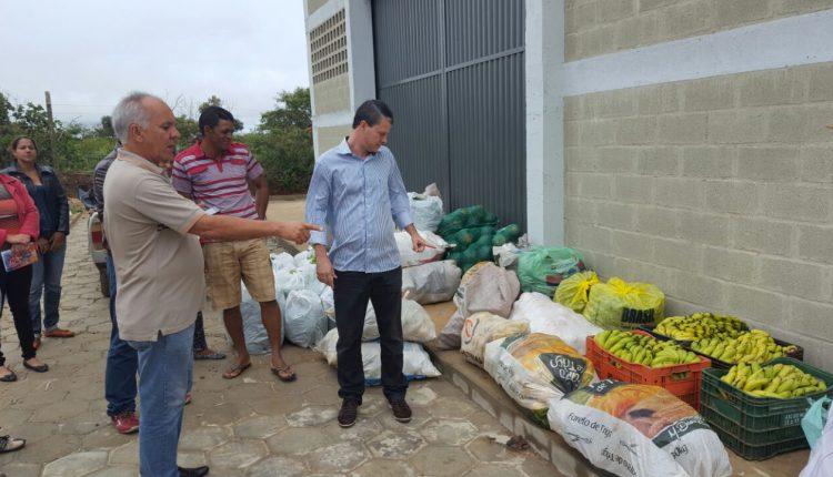 Prefeito Aldo Gondim visita Programa de Aquisição de Alimentos (PAA)