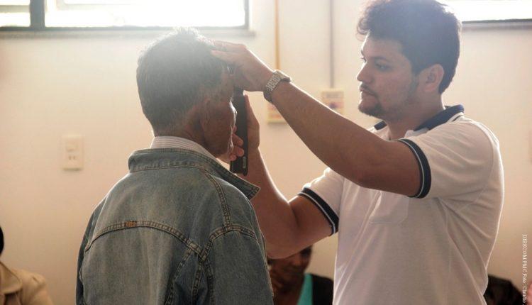 Cerca de 300 pessoas foram atendidas em Mutirão do Glaucoma
