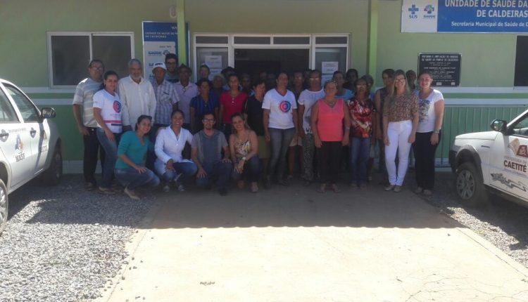 Equipe do NASF realiza ação de Hiperdia em Caldeiras