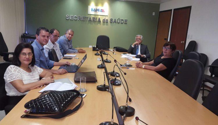 Em Salvador, prefeito Aldo Gondim retoma discussõessobre implantação da Unacon em Caetité