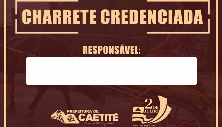 2 de Julho de Caetité: charretes terão que ter autorização para participar do desfile