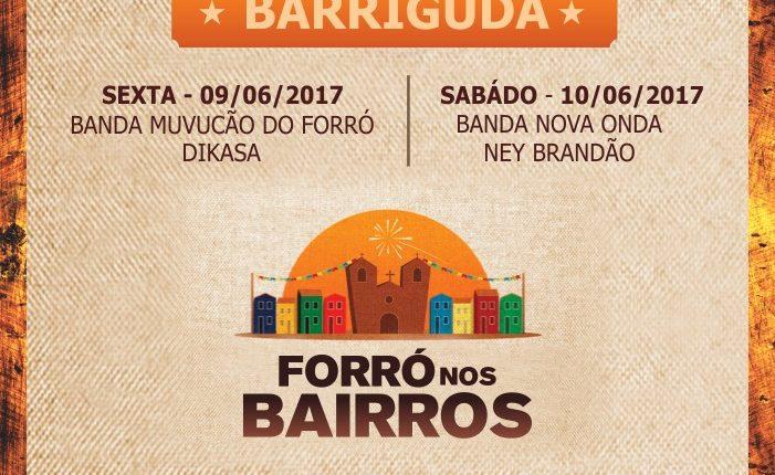 Forró da Barriguda dá início ao projeto São João nos bairros de Caetité