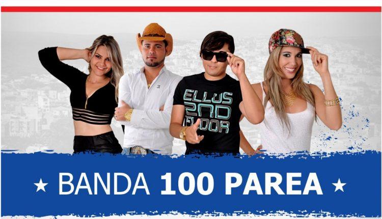 Banda 100 Parea é a atração do 1º de Julho em Caetité