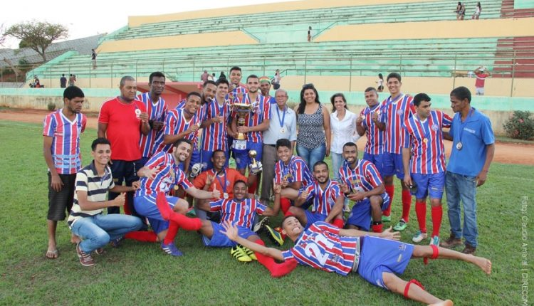 Bahia é o grande campeão do Campeonato Caetiteense de Futebol 2017
