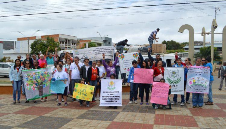 Apae de Caetité realiza Semana Nacional da Pessoa com Deficiência
