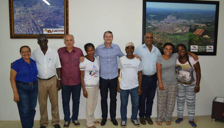 Líderes quilombolas agradecem apoio do prefeito Aldo Gondim