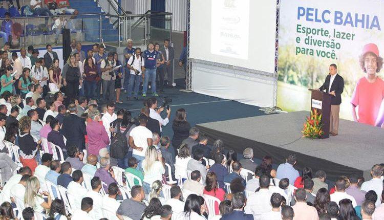 Caetité é contemplada com Programa estadual de Esporte e Lazer da Cidade