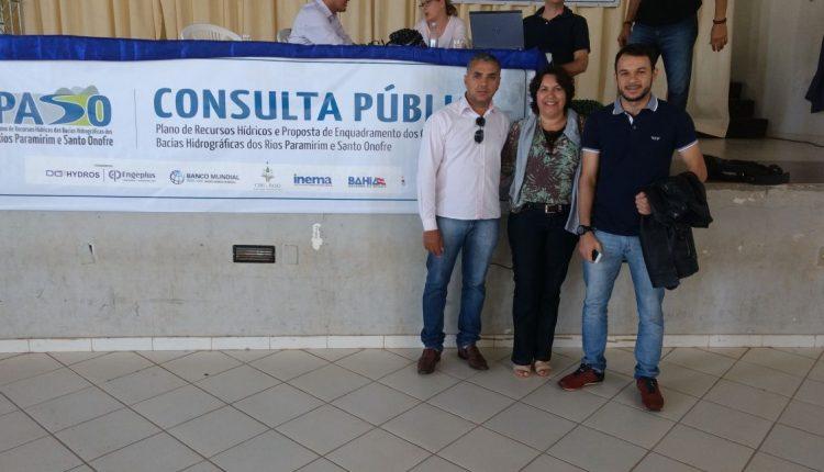 Secretaria de Meio Ambiente de Caetité presente em Consulta Pública em Paramirim