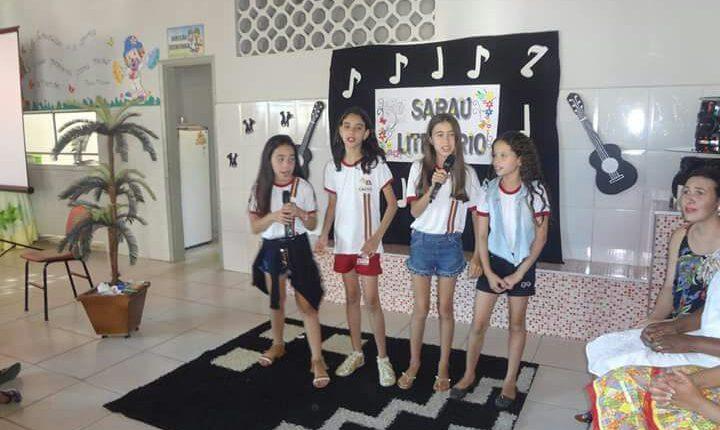 Semana de muitas atividades especiais no Grupo Escolar Maria Neves Lobão