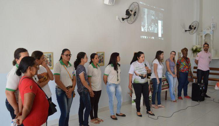 Secretaria de Desenvolvimento Social de Caetité realiza reunião em Santa Luzia