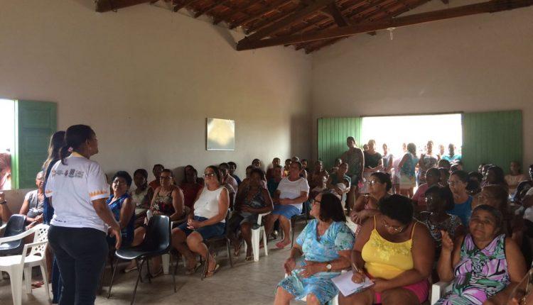 Equipe do CRAS Rural realizou reunião em Pajeú do Vento