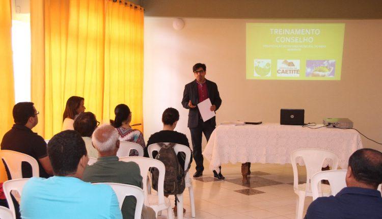 Conselheiros da Defesa do Meio Ambiente realizaram treinamento