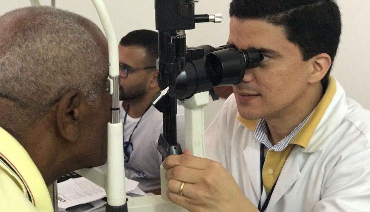 Mais 100 pessoas foram atendidas em Mutirão do Glaucoma em Caetité