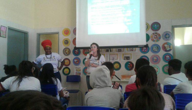 Equipe do CRAS Rural realiza 1º encontro de Ciclo de Palestras nas escolas municipais