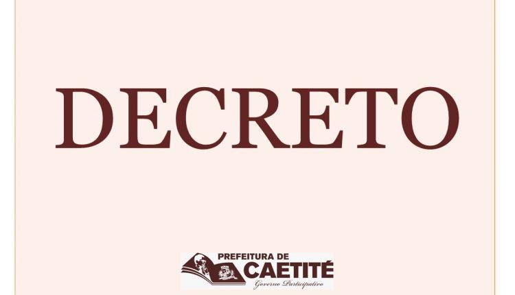 Prefeitura de Caetité divulga decreto de paralisação para esta quinta-feira (26/10)