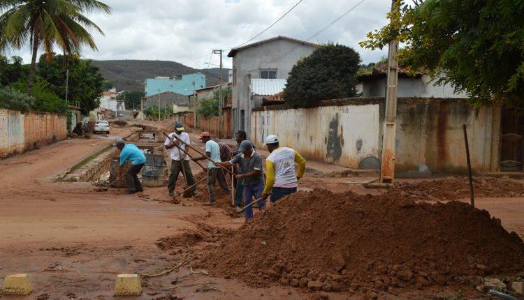 Prefeitura de Caetité dá início à operação de emergência após forte chuva