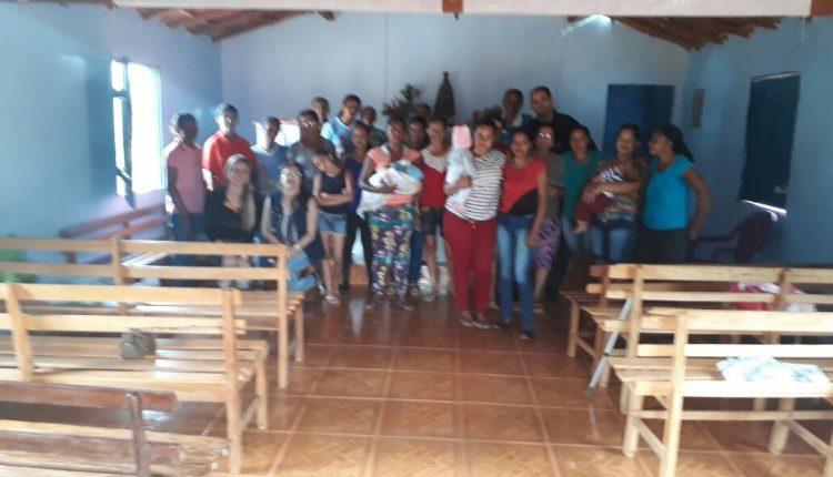 Equipe do CRAS Rural realiza reunião em Açoita Cavalo