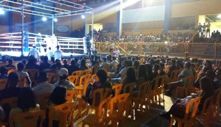 Atleta caetiteense é destaque no Chapada Fighting Championship