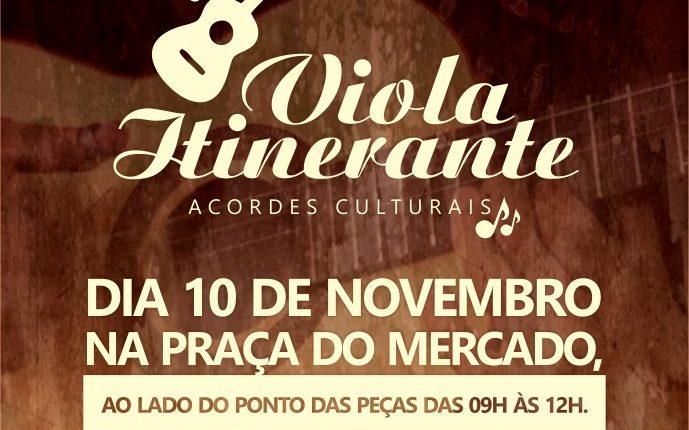 Prefeitura de Caetité realizará projeto Viola Itinerante na Praça do Mercado