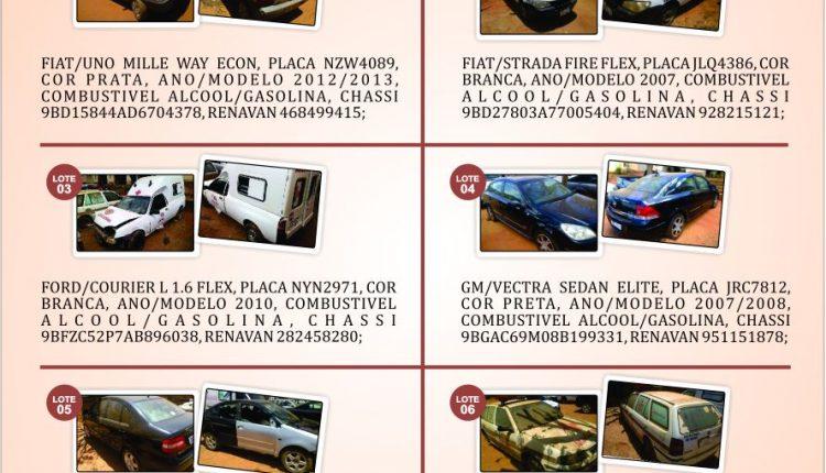 Prefeitura de Caetité realizará grande leilão de carros