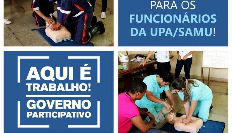 Equipes da UPA/SAMU participam de capacitação