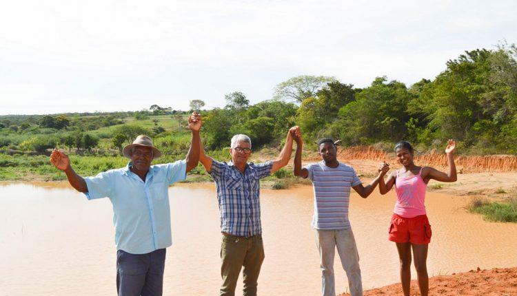 Prefeitura de Caetité constrói barragem comunitária na Comunidade de Barreiro em parceria com a CAR