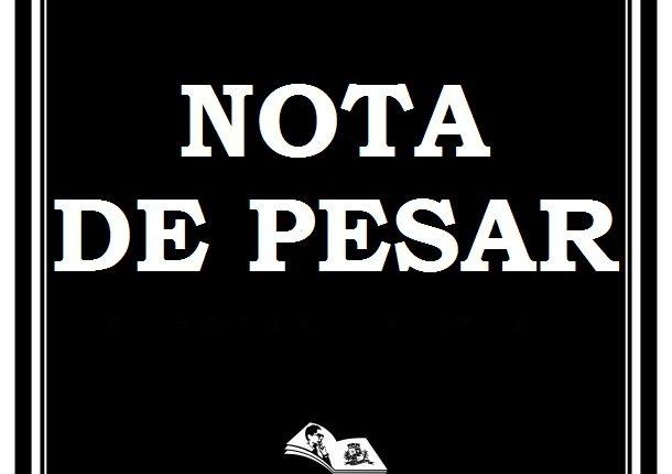 NOTA DE PESAR – Professora Palmira Guanais Aguiar Fausto