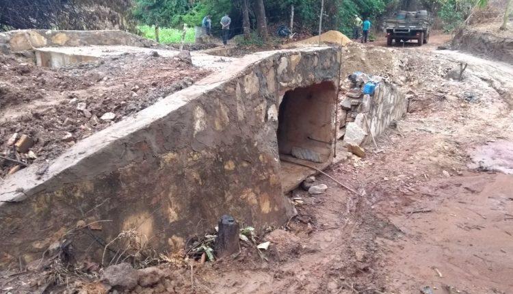 Prefeitura constrói mais uma ponte na zona rural de Caetité