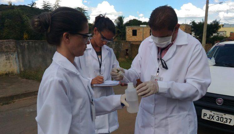 Secretaria de Saúde realiza controle de qualidade da água com coletas periódicas