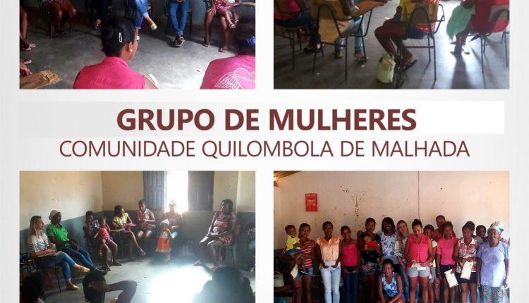 CRAS Rural realiza reunião com mulheres da comunidade quilombola de Malhada