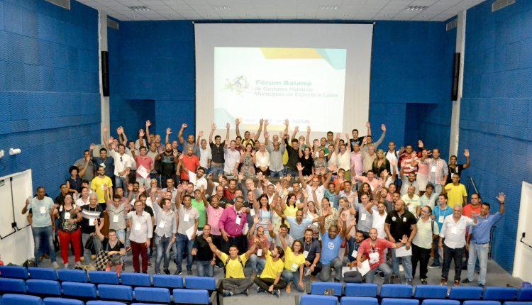 Caetité participa do Fórum de Gestores Públicos de Esporte e Lazer da Bahia em Lauro de Freitas