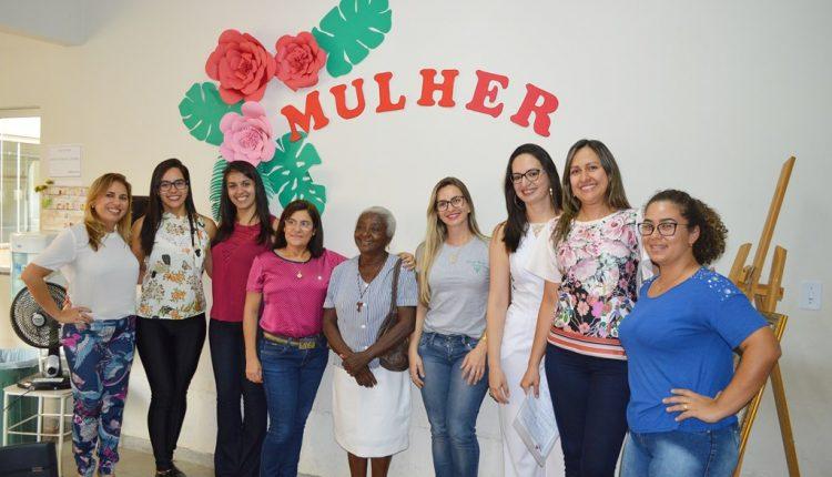 Unidade de Saúde CAE III realizou comemoração em homenagem ao Dia da Mulher