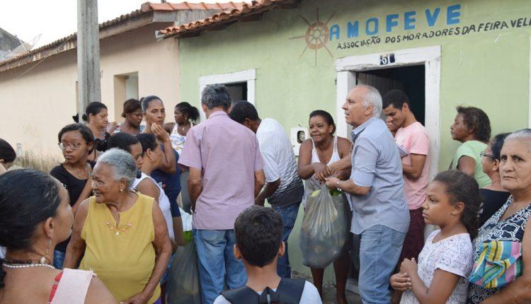 Mais uma tarde de entrega dos produtos do Programa de Aquisição de Alimentos (PAA)