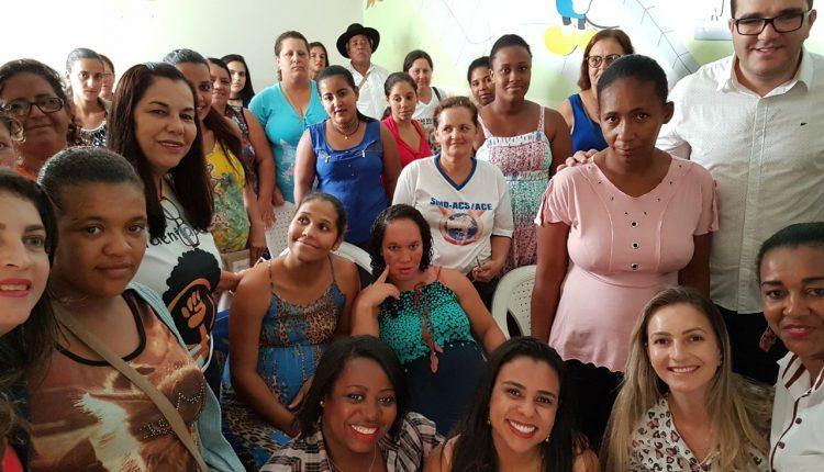 Grupo de Gestantes do CRAS Rural comemorou Dia da Mulher