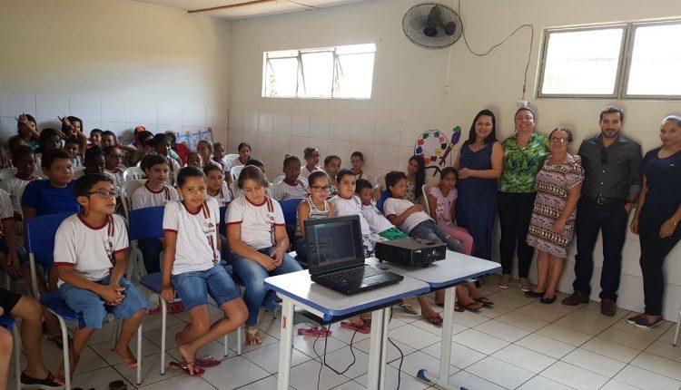 USF de Aroeiras realiza atividade na escola da comunidade