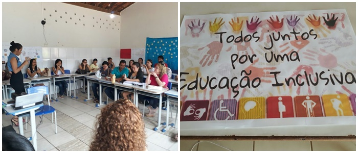 Escolas Zelinda e Nunila do Distrito de Maniaçu realizaram reunião pedagógica com a temática inclusão