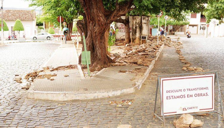Governo Participativo realiza reforma da Praça Coronel Cazuzinha