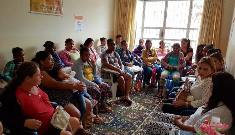 Cras rural realiza bate papo com grupo de gestantes