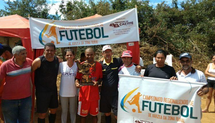 Associação de Açoita Cavalo é campeão do zonal de futebol realizado na comunidade