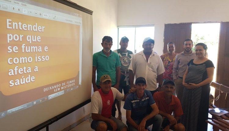 USF do Povoado de Aroeiras realiza acompanhamento de pacientes para superação do tabagismo