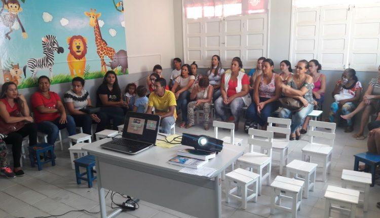CAE III promove atividade educativa na Creche Menino Jesus de Praga