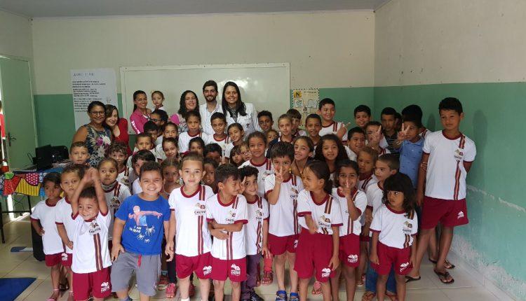 Secretaria de Saúde realiza atividades do Programa Saúde da Família em escolas de Campinas e Santa Luzia