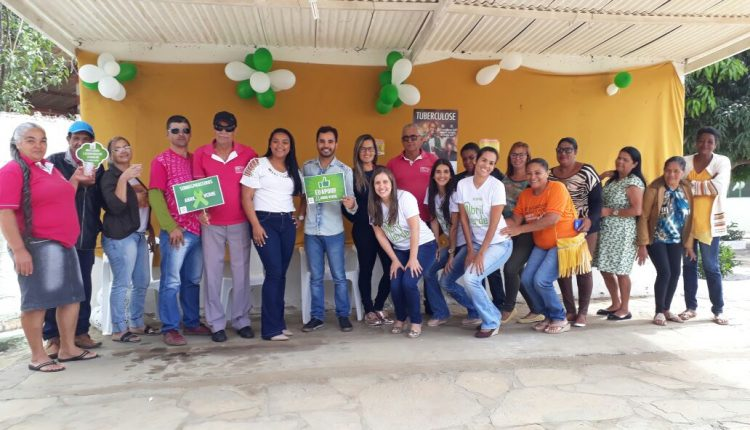 USF e Cerest realizam atividade da Campanha Abril Verde em Brejinho das Ametistas