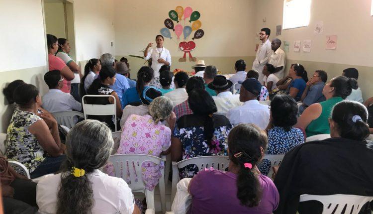 USF de Caldeiras realizou dia de prevenção e combate à hipertensão arterial