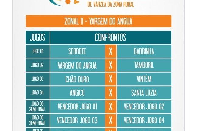 Mais uma etapa do Campeonato Regionalizado de Futebol de Várzea da Zona Rural