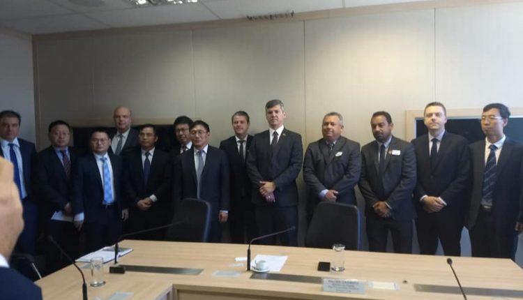 Prefeito Aldo Gondim participa de audiência com Ministro dos Transportes em Brasília