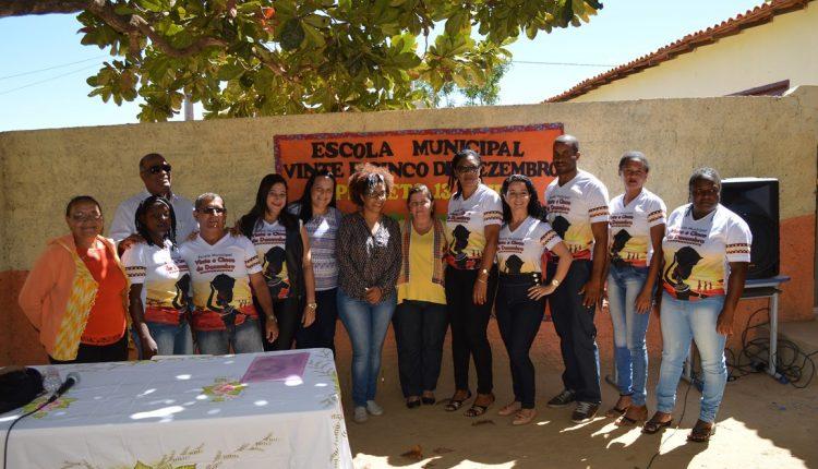Escola da Comunidade Quilombola de Sambaíba celebra o 13 de maio
