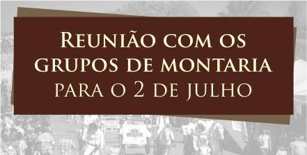 Prefeitura realizará reunião com os grupos de montaria que participarão do 2 de Julho