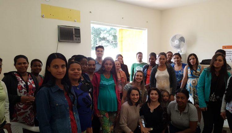 Cras Rural realiza reunião especial do Dia das Mães com Grupo de Gestantes